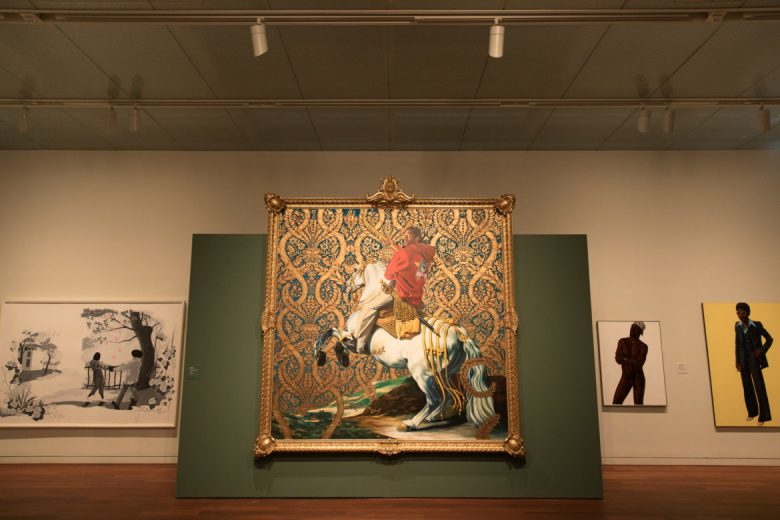 Kehinde Wiley, Equestrian Portrait of the Count Duke Olivares, 2005.