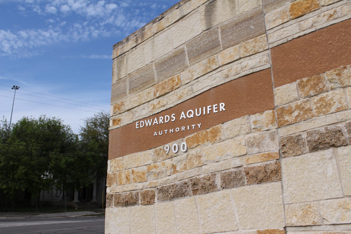 The Edwards Aquifer Authority's headquarters are located at 900 E. Quincy Ave.