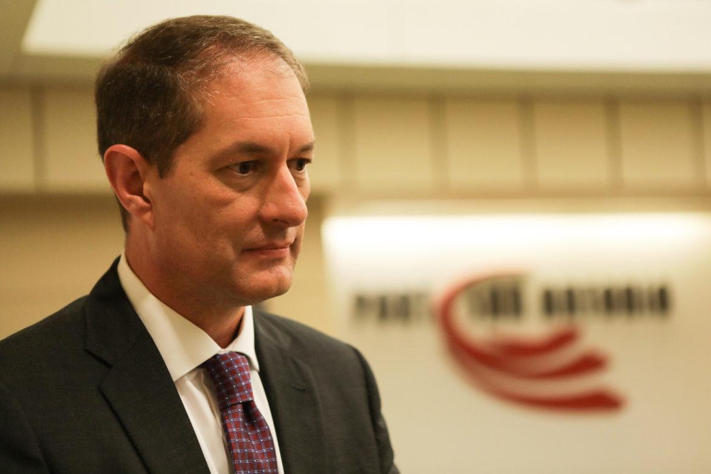Port San Antonio executive Jim Perschbach was chosen as Interim CEO.