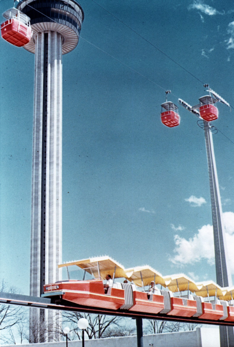 The Mini-Monorail in the summer of 1968.