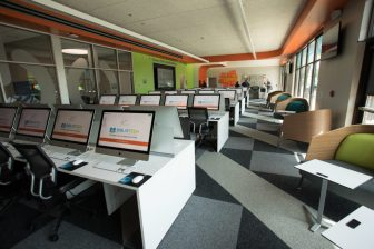 Bexar County's third full-service BiblioTech branch on the East Side is officially open.
