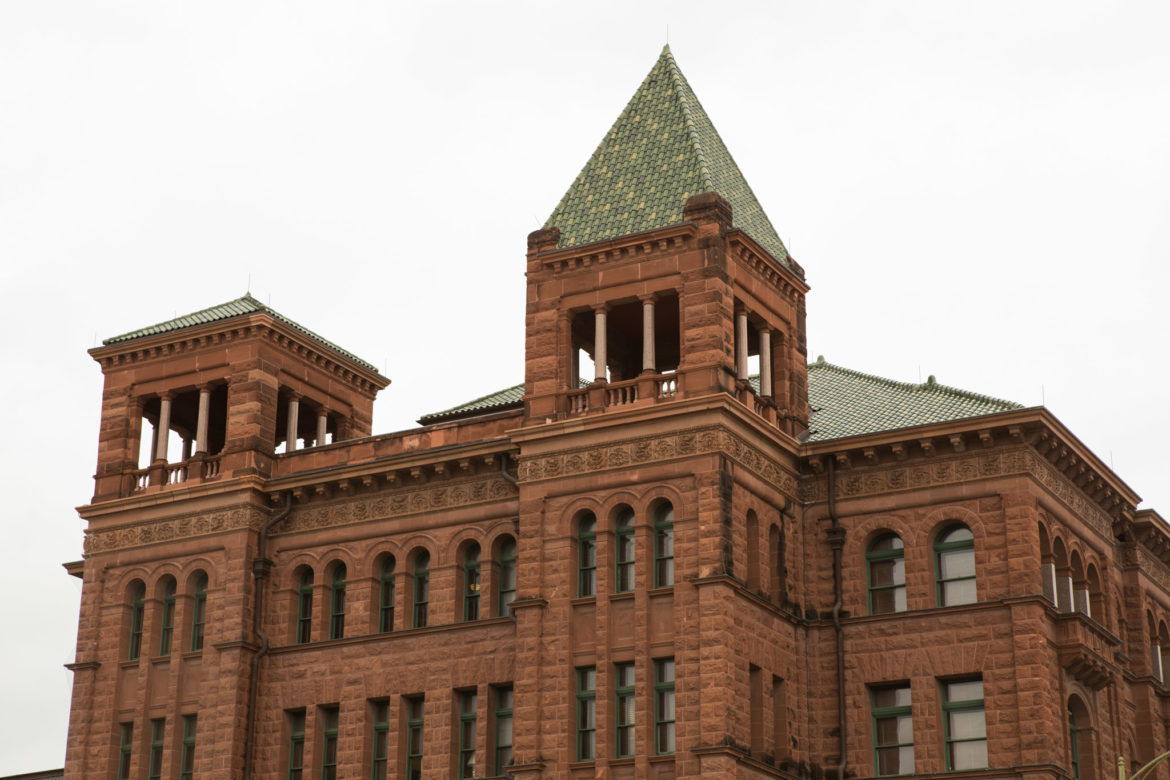 The Bexar County Courthouse.