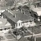 An aerial photo of 323 Goliad Street.