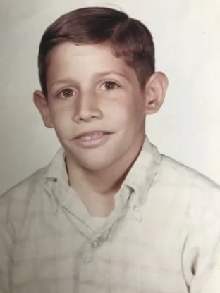 Ken Rodriguez as a young boy.