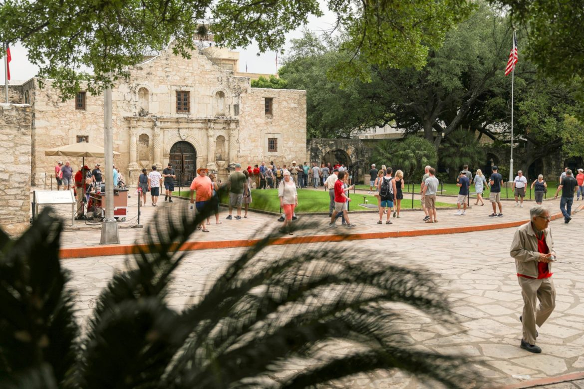 More than 2.5 million people visit The Alamo every year.