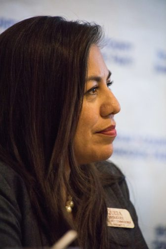 Bexar County's second precinct candidate Queta Rodriguez.