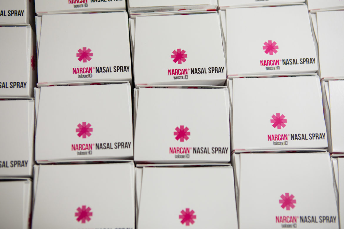 Naloxone, the active ingredient in NARCAN® Nasal Spray, reverses the effects of opioid overdose in 2 to 3 minutes.