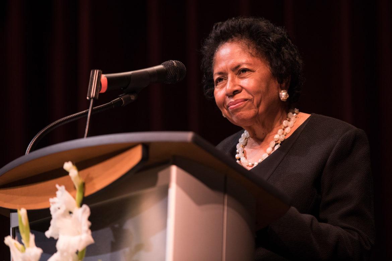 Dr. Ruth Simmons, Prairie View A&M University president, is the keynote speaker at San Antonio's Eastside Tricentennial Celebration.