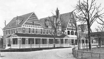 Hot Wells Hotel circa 1907.