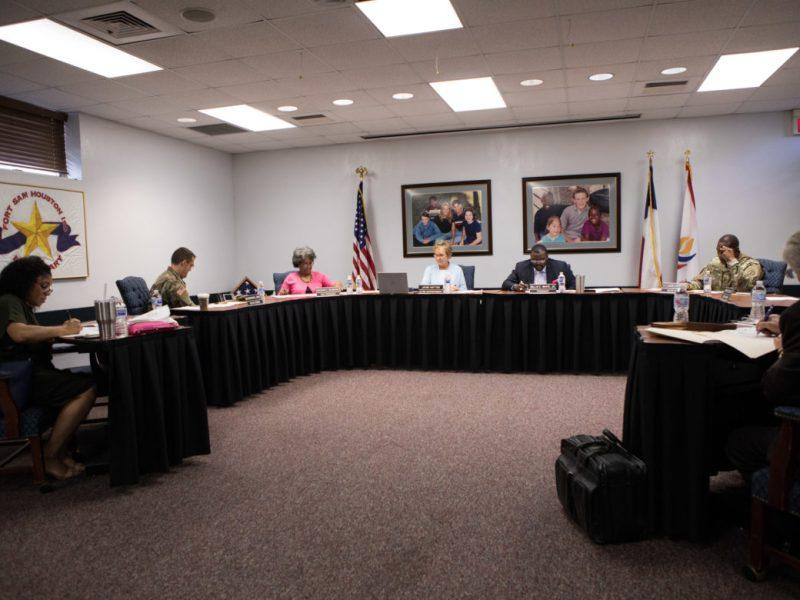 The Fort Sam Houston ISD school board.