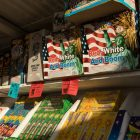 """Mr. W Fireworks sells """"Red, White and Boom"""" boxes of fireworks."""