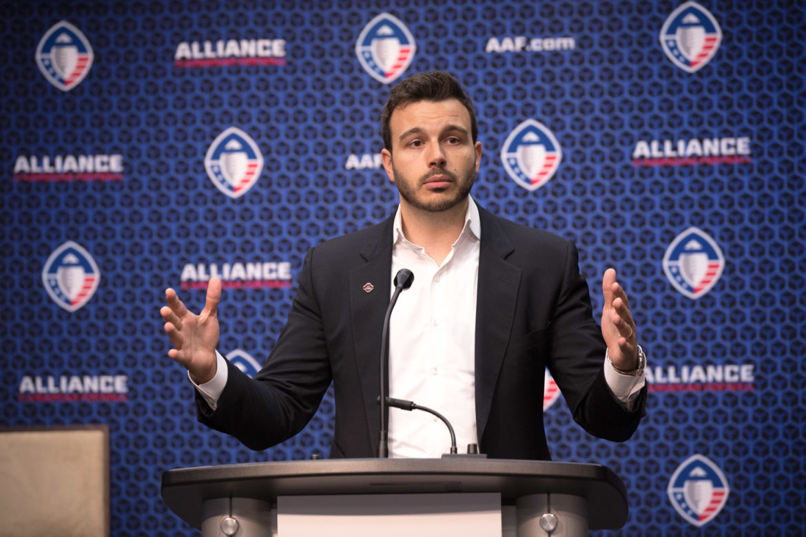Charlie Ebersol CEO/Co-founder of Alliance of American Football.