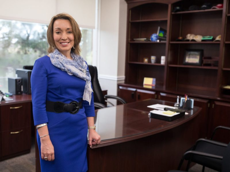 Sole finalist for the Judson Independent School District Superintendent position Jeanette Ball.