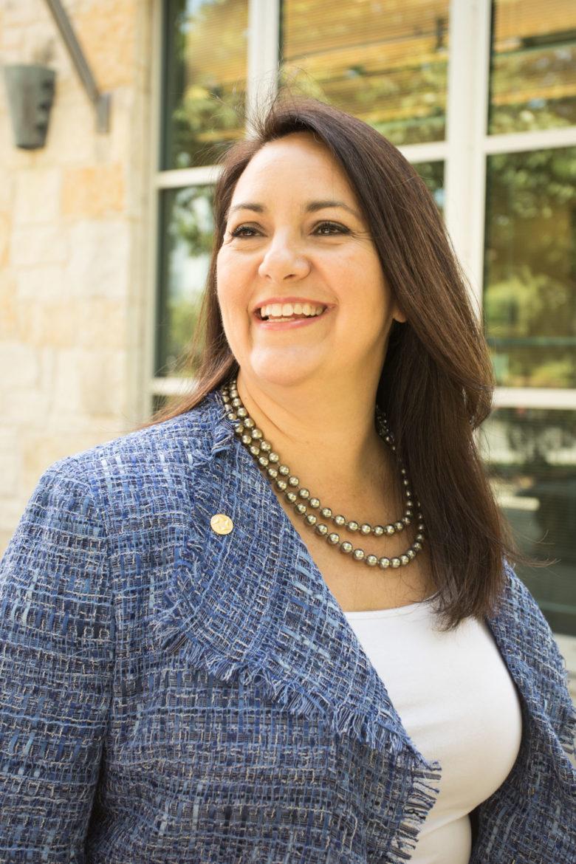 North San Antonio Chamber of Commerce President and CEO Cristina Aldrete.