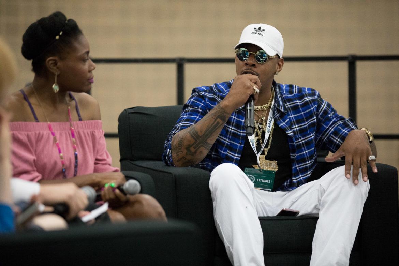 Rapper King Kyle Lee.