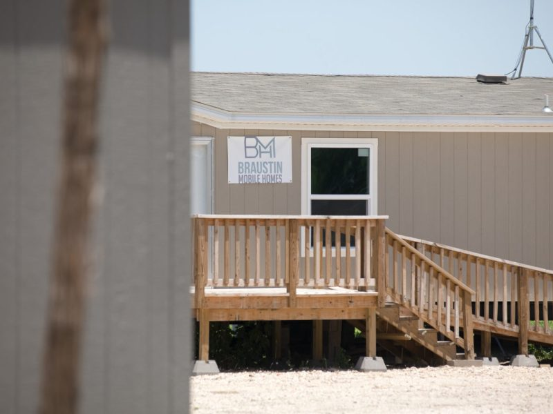 The future home of Braustin Mobile Homes located in the Southside of San Antonio.