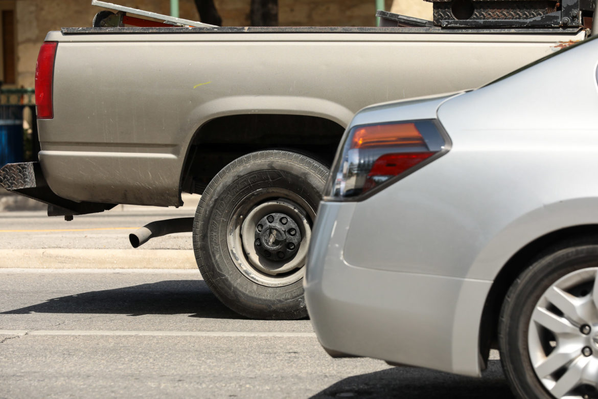 Engine exhaust is one of the leading causes of ozone pollution in Bexar County.