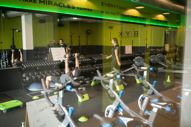 Bodytek fitness is the first tenant at Midtown Station.