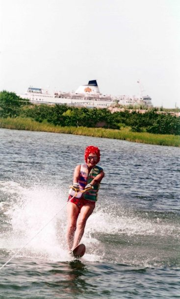 Edith McAllister water skied until the age of 94.