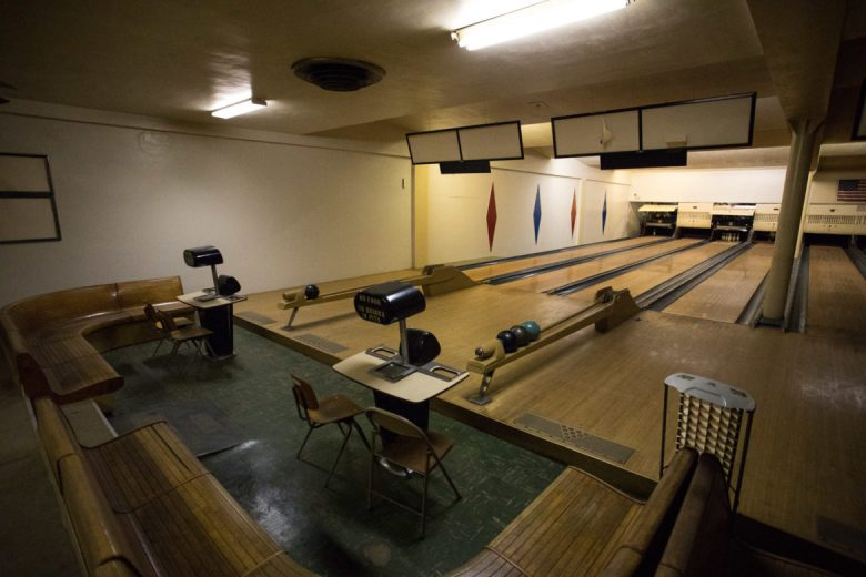 Hermann Sons Life Home Association Building housed the first automated bowling lanes in the state of Texas.