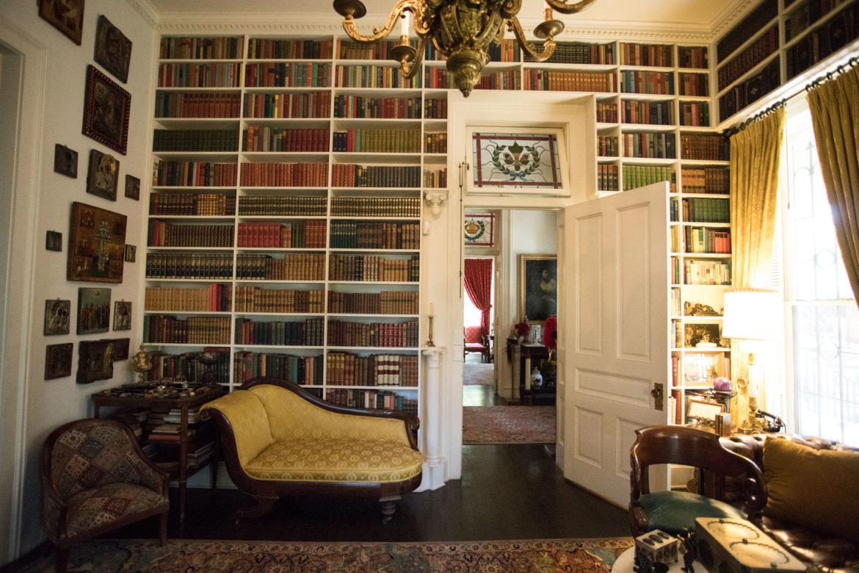 The library in Villa Finale: Museum & Gardens.