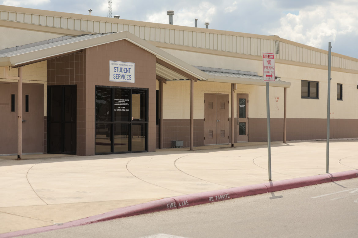 The Student Services building at East Central ISD.