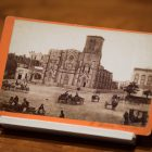 A stereograph of San Fernando Cathedral.