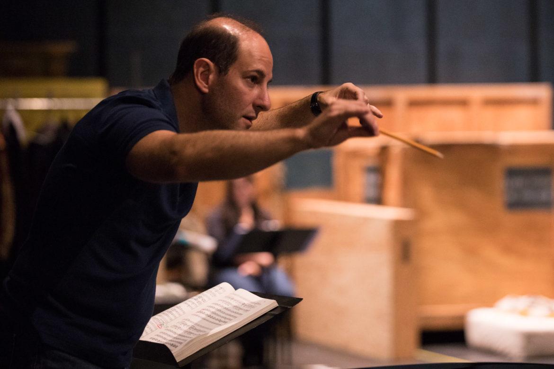 Conductor Francesco Milioto.
