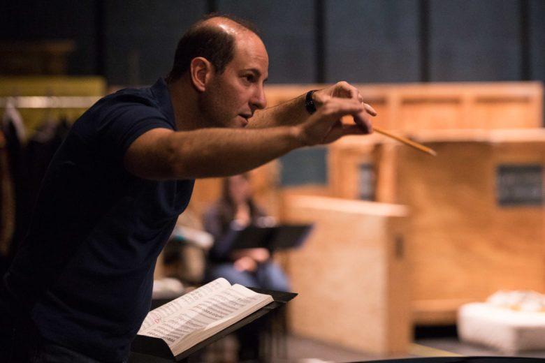 Musical director Francesco Milioto