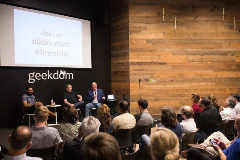 Co-Founder and CEO of Geekdom Media Lorenzo Gomez hosts Geekdom Co-Founders Graham Weston and Nick Longo hosted by Lorenzo Gomez.