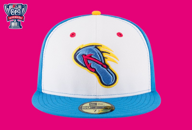 The San Antonio Missions Flying Chanclas fitted game cap is just one of many merchandise items offered by the franchise.