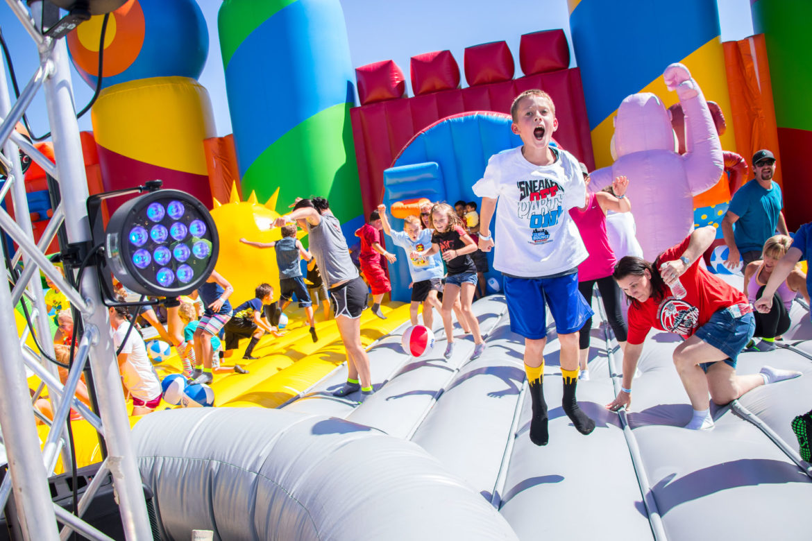 The Bouncer, the biggest bounce house in the world, is coming to the Wheatley Heights Sports Complex on the San Antonio's East Side Friday.