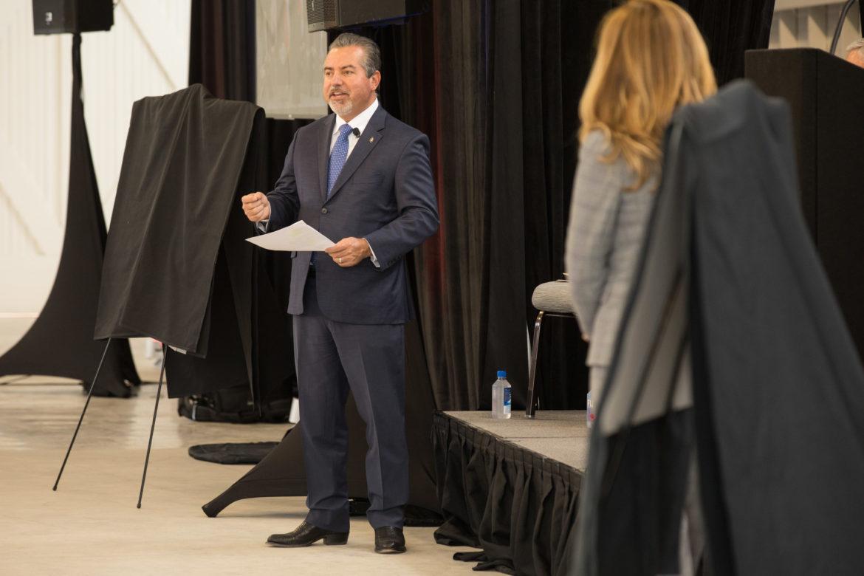 Brooks President and CEO Leo Gomez.