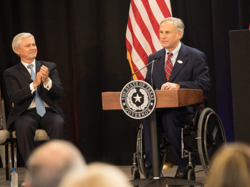 Gov. Greg Abbott.