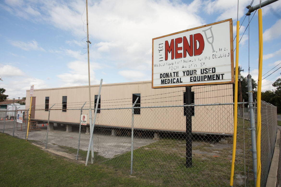 Project MEND is currently located at 1201 Austin St.