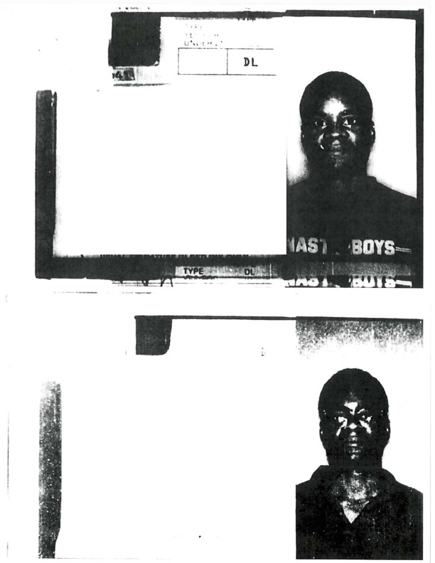 Texas identifications for Christopher Alan Steele (top) and Keith James Washington. William Sano, then captain of the SAFD Arson Bureau, claimed that the person on Washington's card is also Steele.