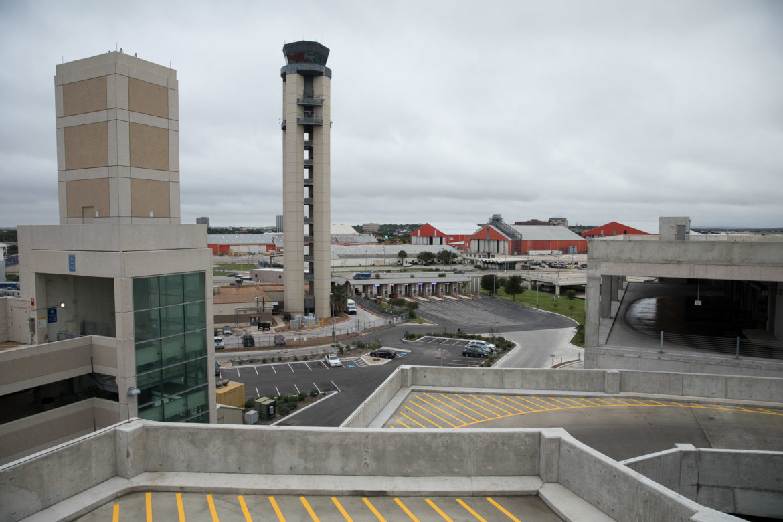 The San Antonio International Airport