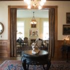 The Maverick Carter House living room.