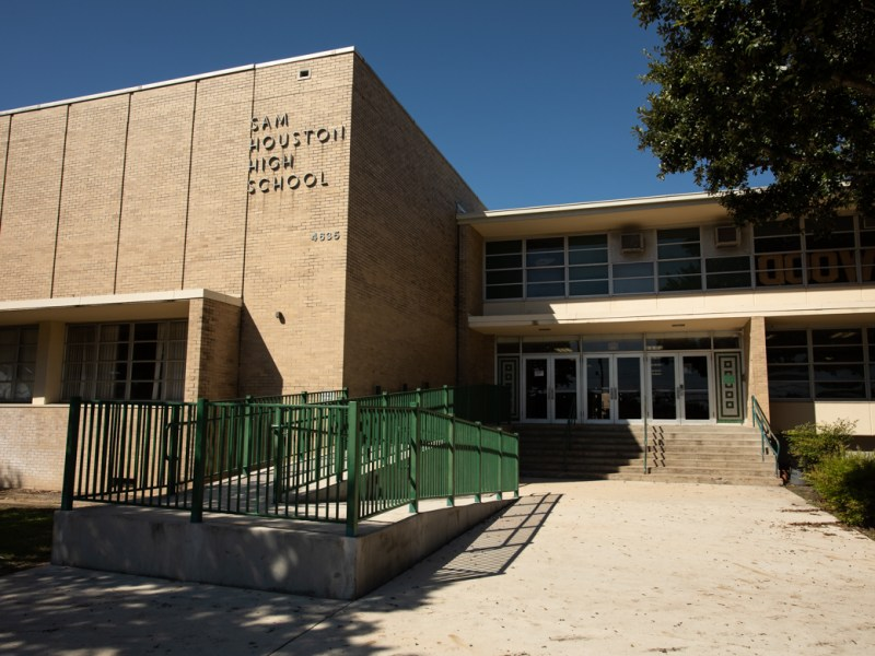 Sam Houston High School.