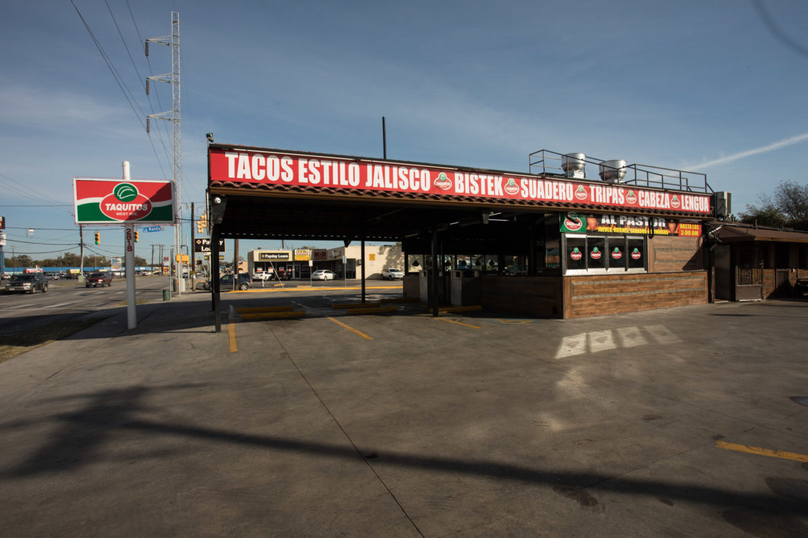 Taquitos West Avenue is located at 2818 West Ave.