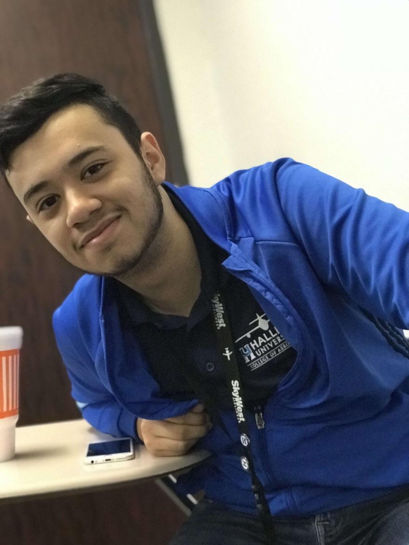 Luis Falcon is a student at Hallmark University.