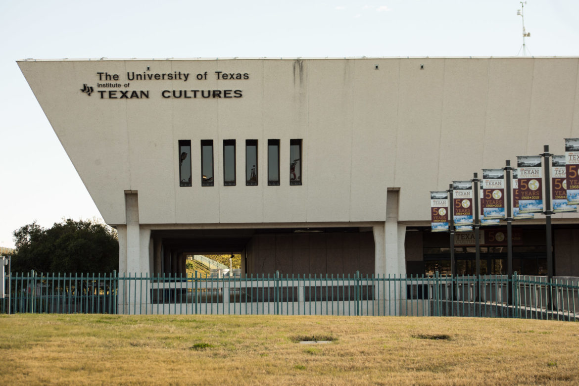 The University of Texas Institute of Texan Cultures.