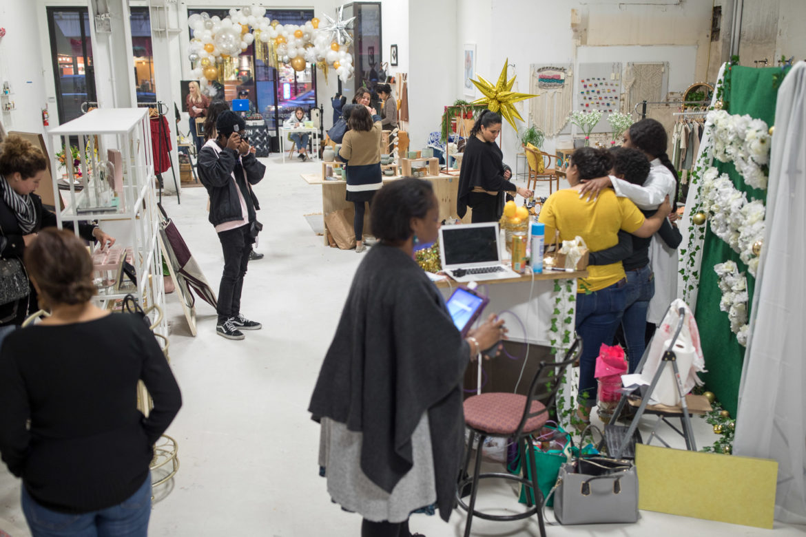The Open Holiday Market opens for weekend shoppers and gifts for a variety of loved ones.