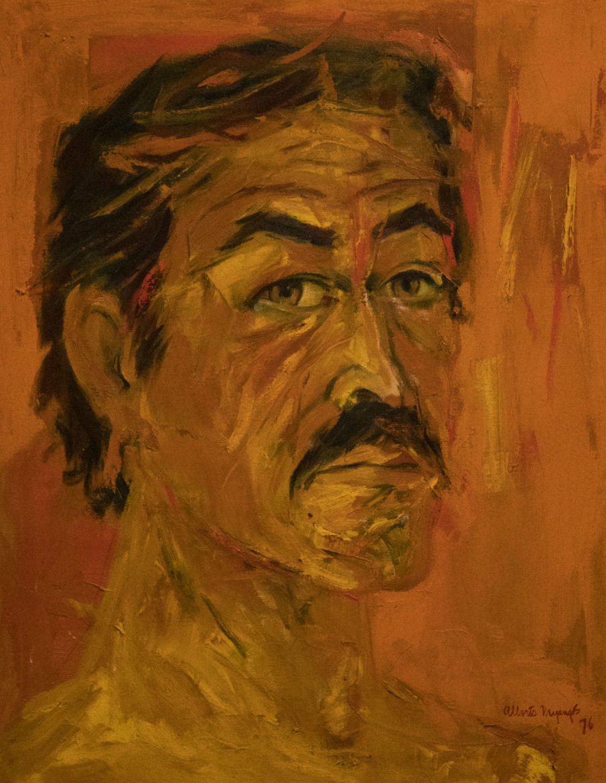 Self-Portrait by Albert Mijangos.