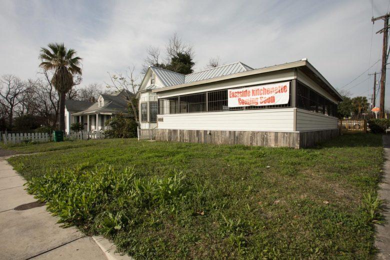 The exterior of Eastside Kitchenette.