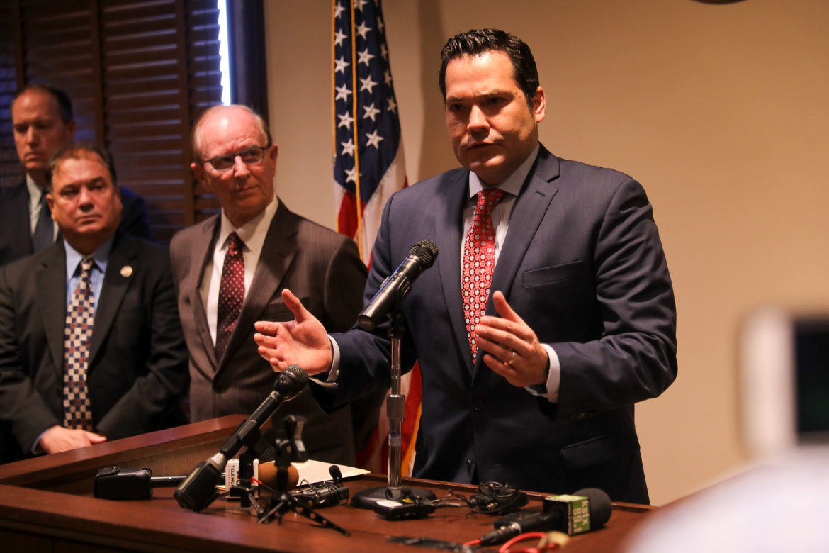 Justin Rodriguez has been selected to fill the Bexar County Commissioner seat for Precinct 2.