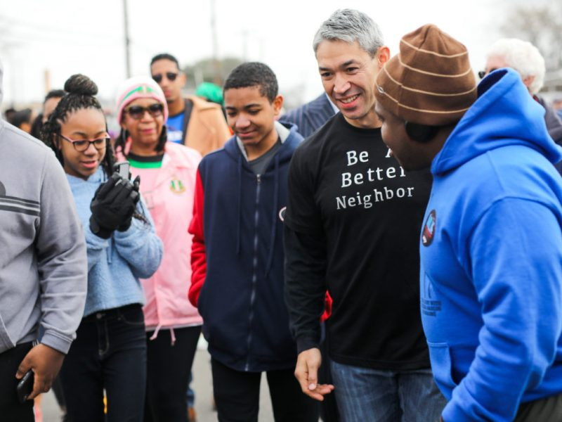Mayor Ron Nirenberg responded Friday to news the 2021 iteration of the local MLK March will not happen in person.
