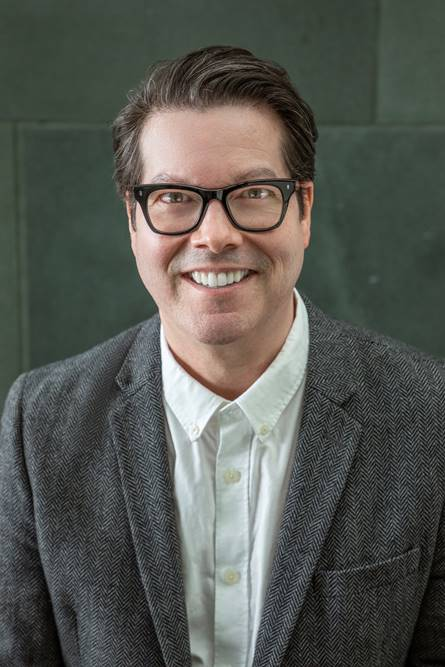 Dr. R. Scott Blackshire, the new Curator of the Tobin Collection of Theatre Arts at the McNay Art Museum.