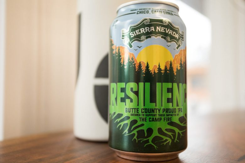 Sierra Nevada Brewing Co. Resilience Butte County Proud IPA.