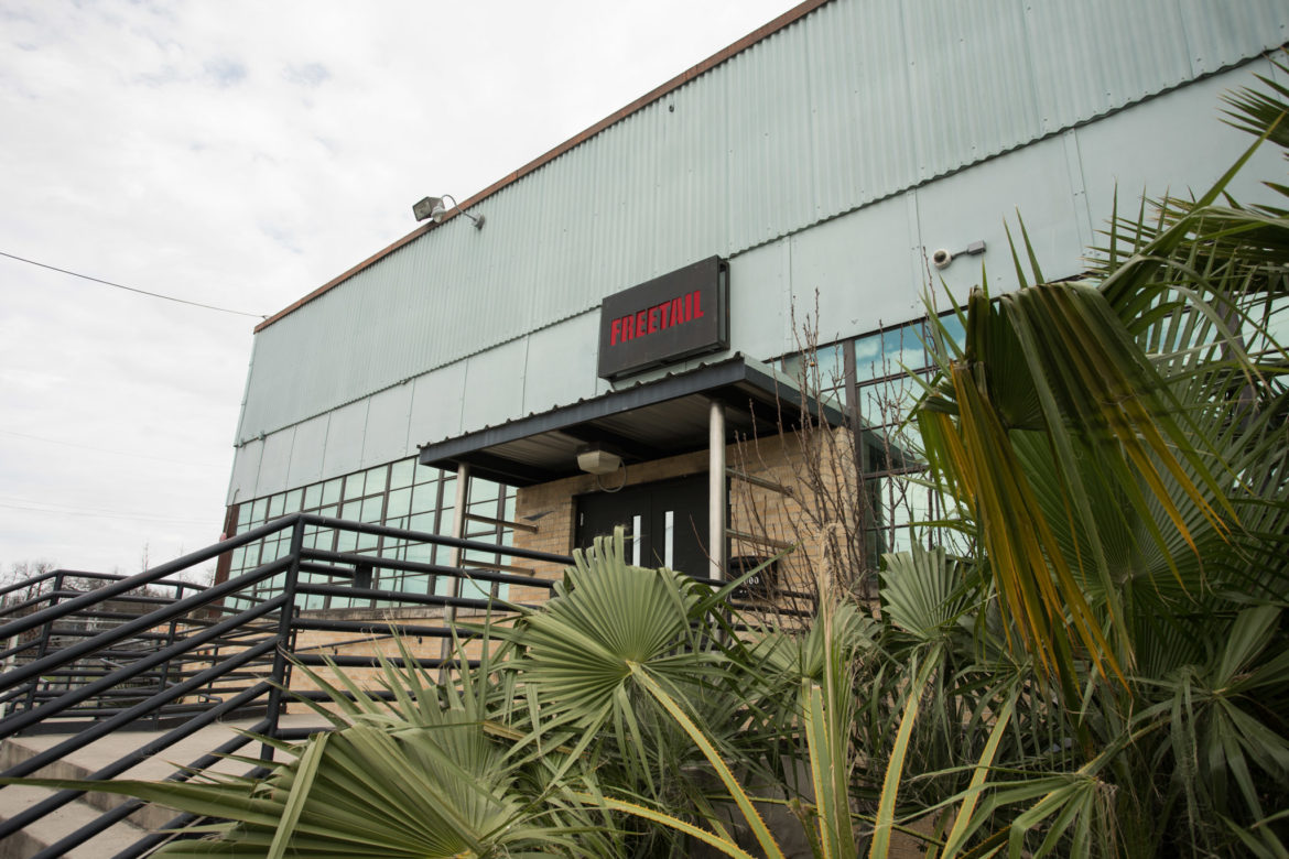 Freetail Brewing Company is located at 2000 S. Presa St.